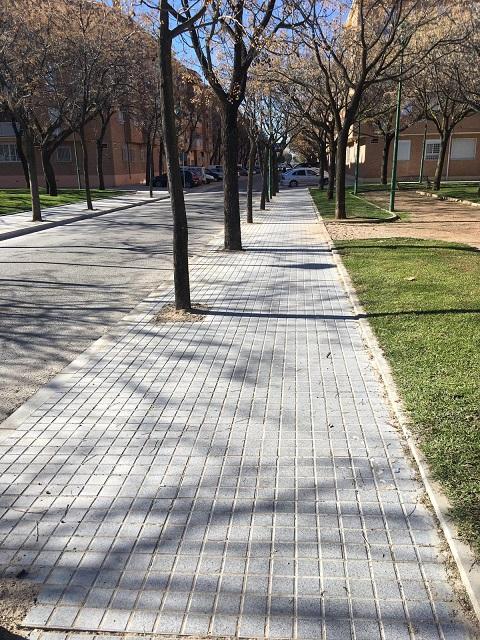 Concluyen las obras de mejora de accesibilidad en calle Las Lomas y pasaje del Deporte