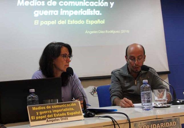 """Entrevista a Ángeles Díez (FAI): """"el reconocimiento de Guaidó por parte de Pedro Sánchez supone una violación del derecho internacional y de nuestra propia Constitución"""""""