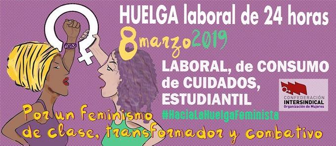 """Manifiesto del sindicato USTEA sobre el 8M: """"un año más, todas a la huelga"""""""