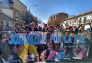 Marcha reivindicativa en las Jornadas por la Paz del distrito sur