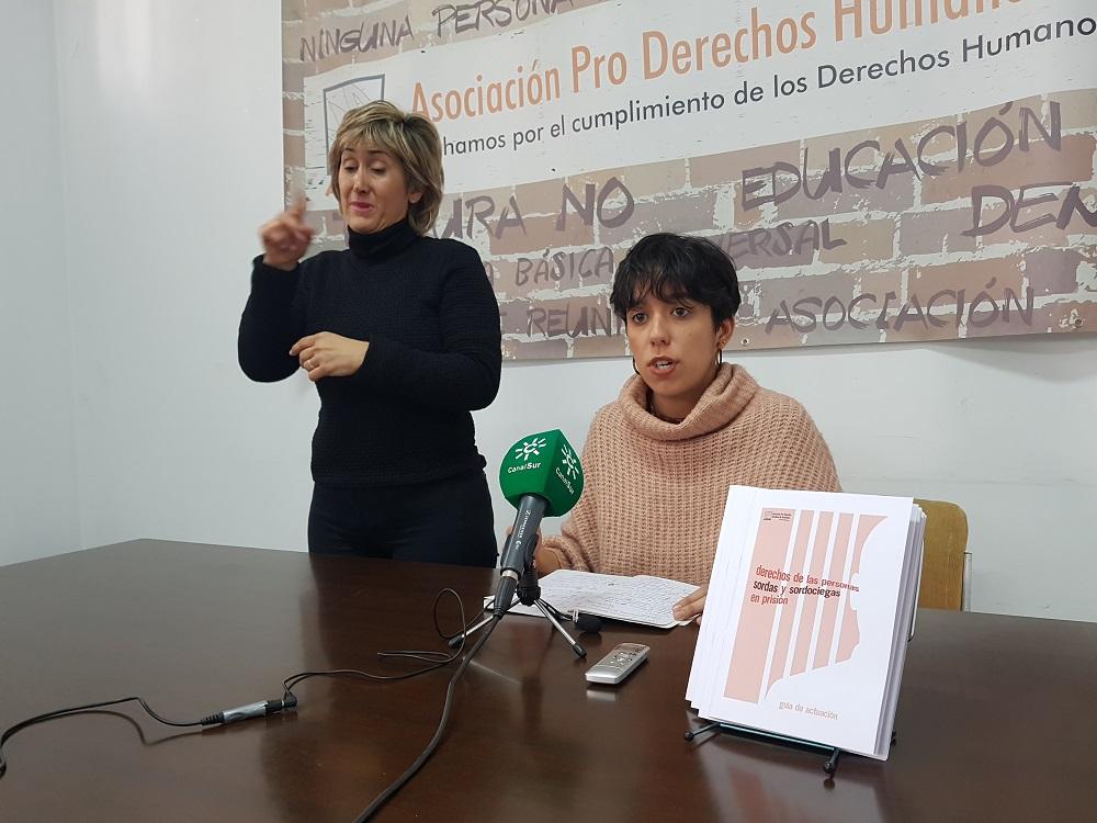 """APDHA califica de """"devastadoras"""" las condiciones a las son sometidas las personas sordas o sordociegas en prisión"""