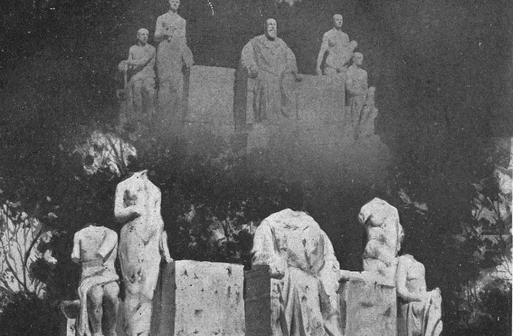100 años de la destrucción del monumento al cacique Barroso