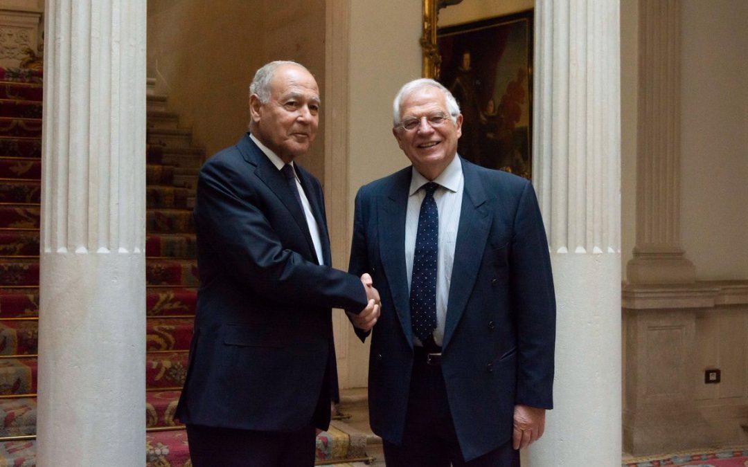 Josep Borrell evita pronunciarse sobre el reconocimiento del Estado Palestino antes del 28A