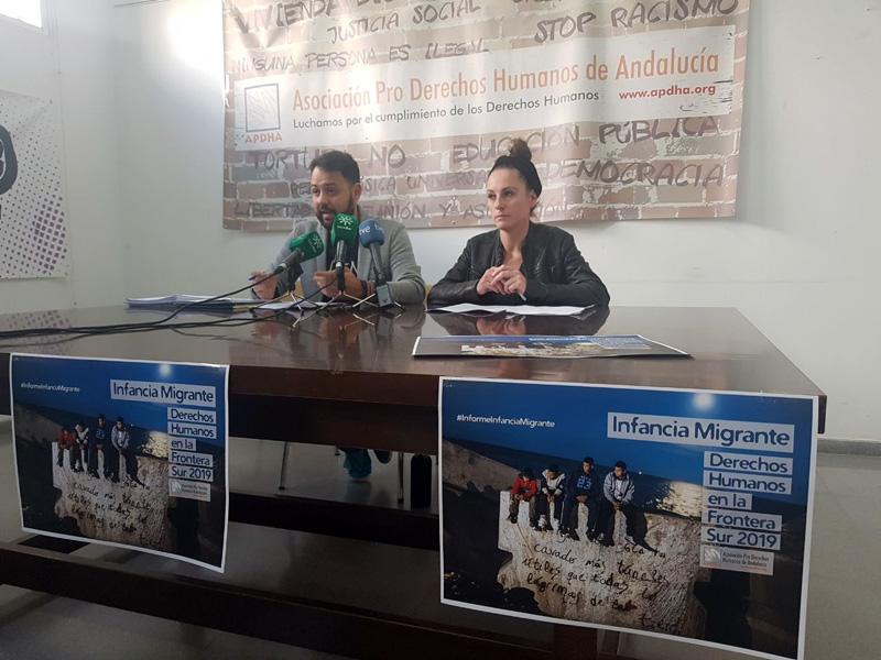 APDHA denuncia en un informe sistemáticas vulneraciones de los derechos de la infancia migrante