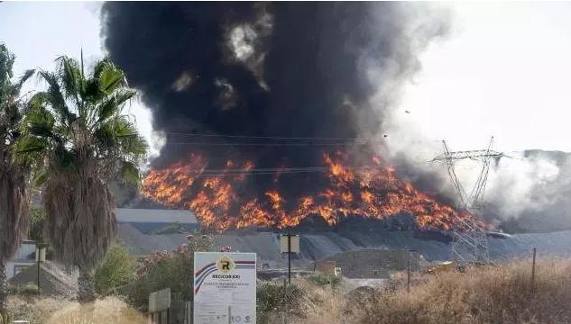 211 instalaciones de reciclado o almacenaje de residuos han ardido en los últimos 7 años