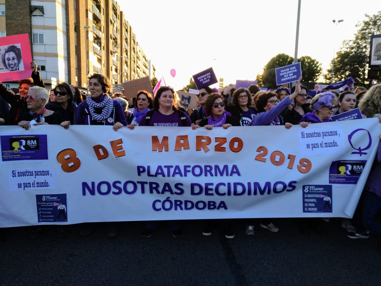 """Plataforma Nosotras Decidimos Córdoba: """"Manifiesto 8M"""""""