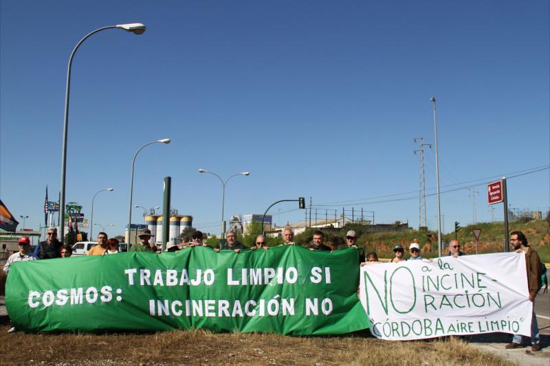 La Plataforma Córdoba Aire Limpio se congratula de la desestimación del recurso de COSMOS contra la denegación de la licencia para incinerar.