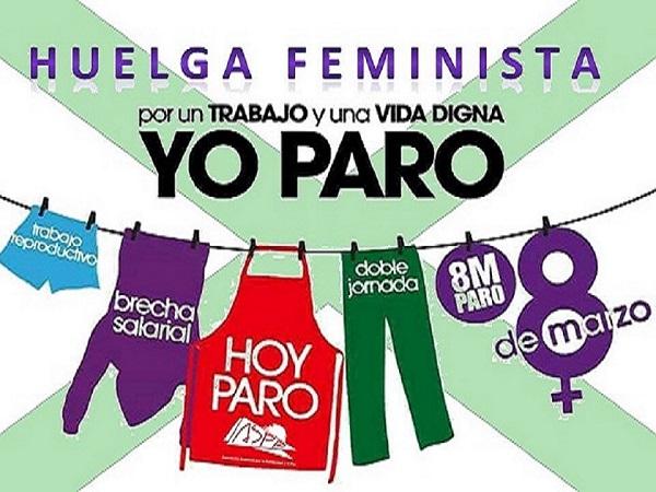 ASPA manifiesta su apoyo a la Huelga Feminista del 8 de marzo