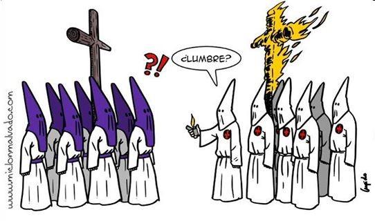 Nazarenos y Ku-Klux-Klan