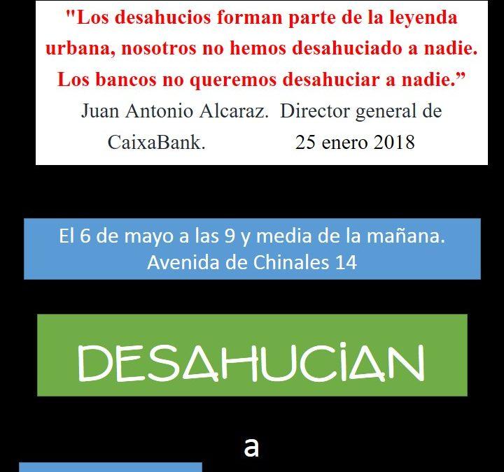 "Caixabank ""no quiere"" desalojar a Daniela"