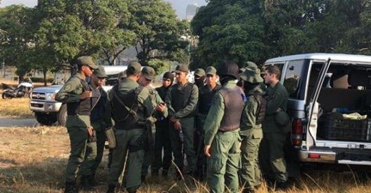 ¿Militares venezolanos con Guaidó?