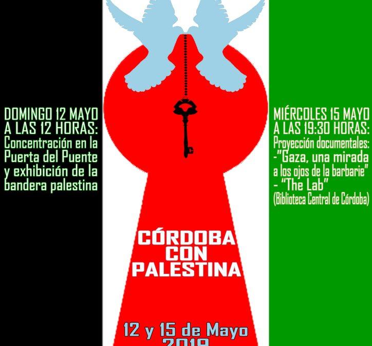 La Plataforma Córdoba con Palestina conmemora Al Nakba