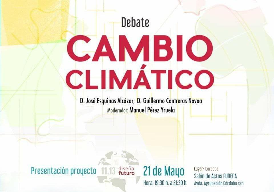 Debate sobre el cambio climático