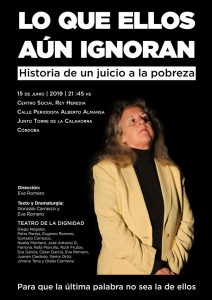 """El Teatro de la Dignidad (Extremadura) representa """"Lo que ellos aún ignoran"""" en el C.S. Rey Heredia @ C.S. Rey Heredia"""