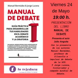 """Presentación de """"Manual de Debate"""" @ Mercao Social La Tejedora"""