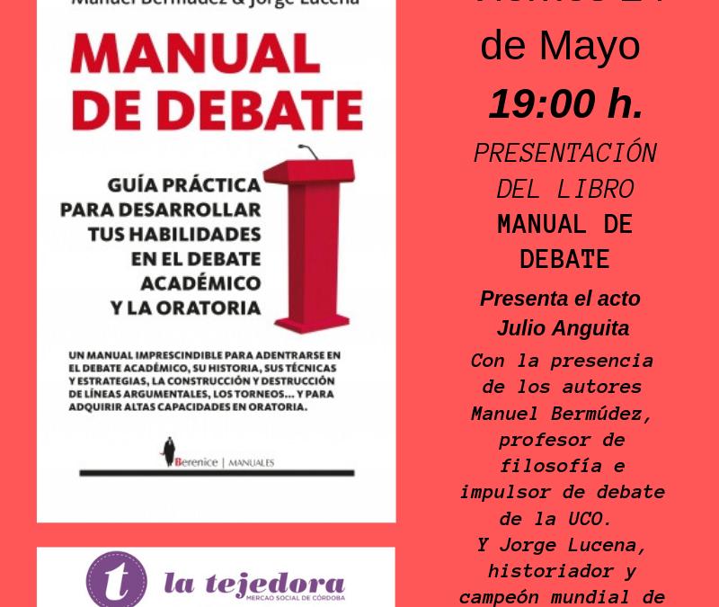 """Presentación de """"Manual de Debate"""""""