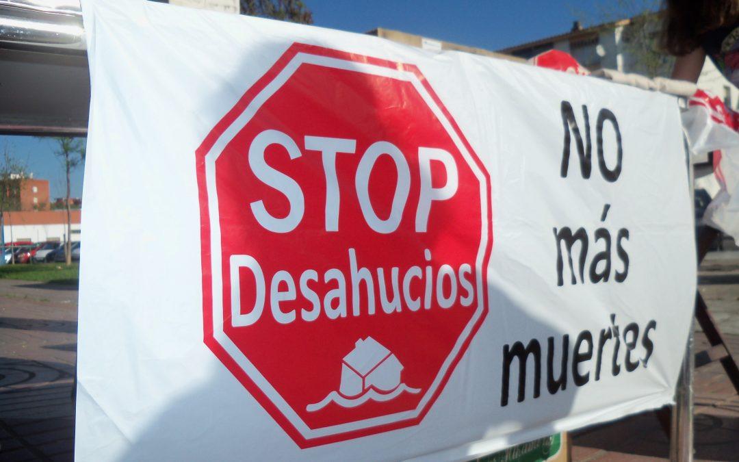 La Coordinadora Andaluza de PAHs y StopDesahucios suspende a la clase política