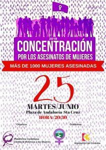 Concentración por los asesinatos de mujeres @ Plaza de Andalucía