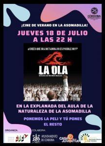 Cine de verano en la Asomadilla: La Ola @ Explanada del Aula de la Naturaleza   Córdoba   Andalucía   España