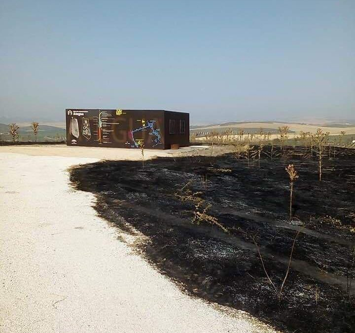 Piden la dimisión de la Delegada de Cultura por engañar con el incendio de Ategua
