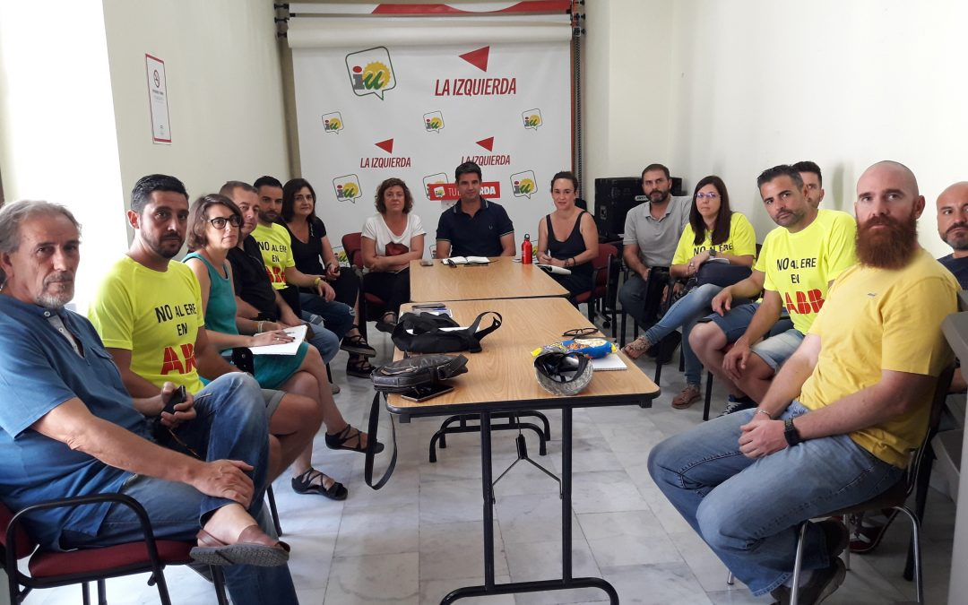 IU muestra su apoyo a las trabajadoras y trabajadores de ABB