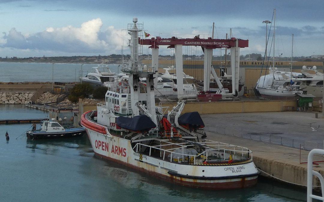 El Alcalde de Cádiz ofrece la ciudad para acoger al OpenArms