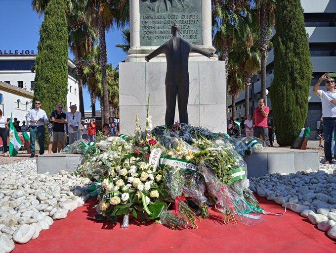 Homenaje a Blas Infante en el 83 aniversario de su asesinato por el franquismo