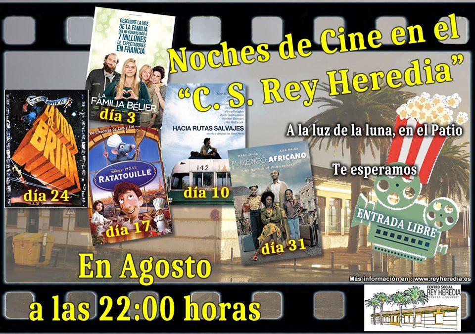 """Noches de cine en el Centro Social Rey Heredia: """"El médico africano"""""""