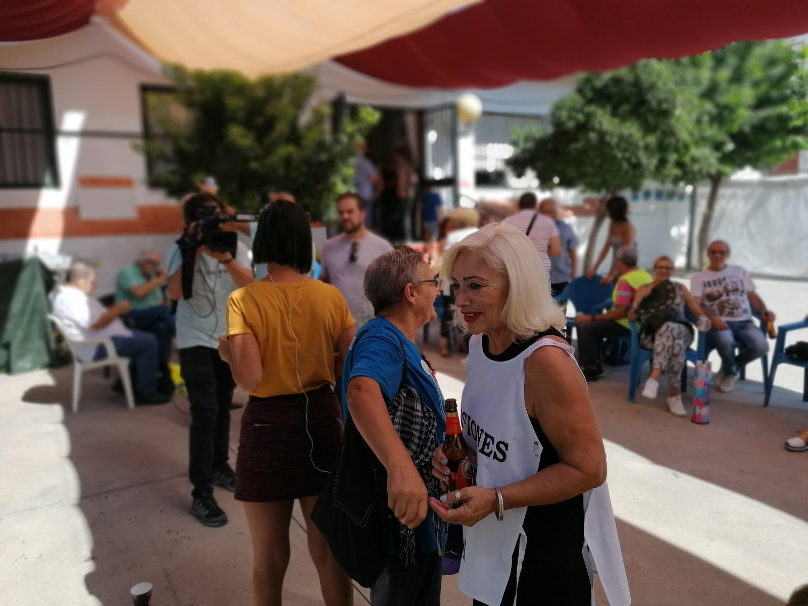 Esther Likona, Marcha por las Pensiones: