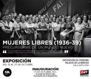 Mujeres libres (1936-1939) @ Diputación de Córdoba. Sala Arpillera