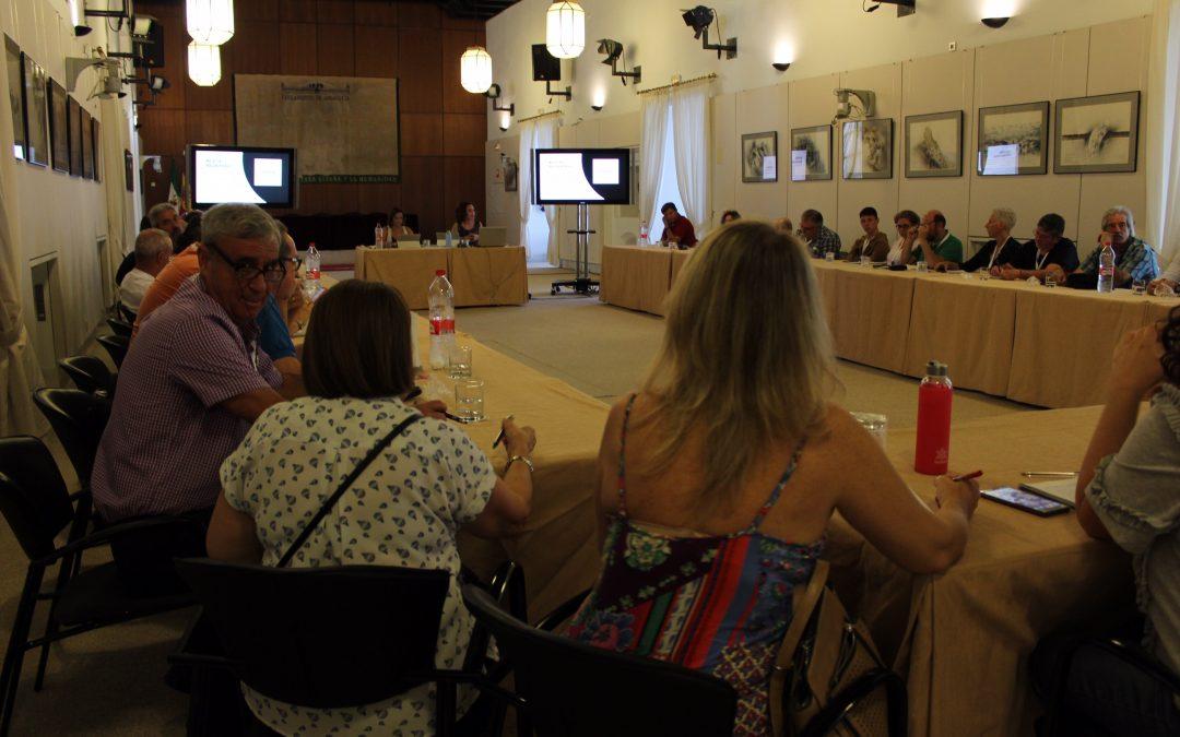 Adelante Andalucía se reúne con 23 asociaciones memorialistas de Andalucía