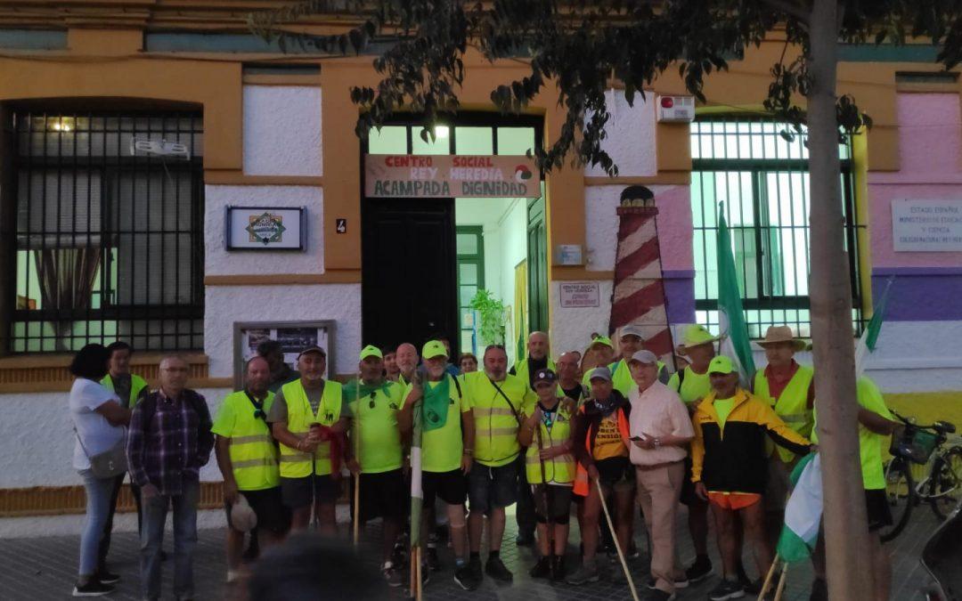 Sale de Córdoba la Marcha por las Pensiones con la suma de dos personas de nuestra ciudad
