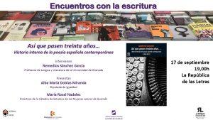 Encuentros con la escritura @ República de las Letras