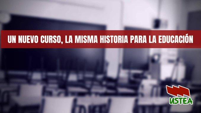 Un nuevo curso, la misma historia para la Educación Pública