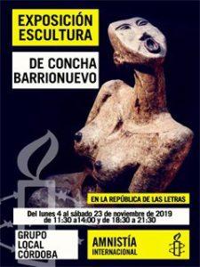 Exposición de escultura de Concha Barrionuevo @ República de las Letras