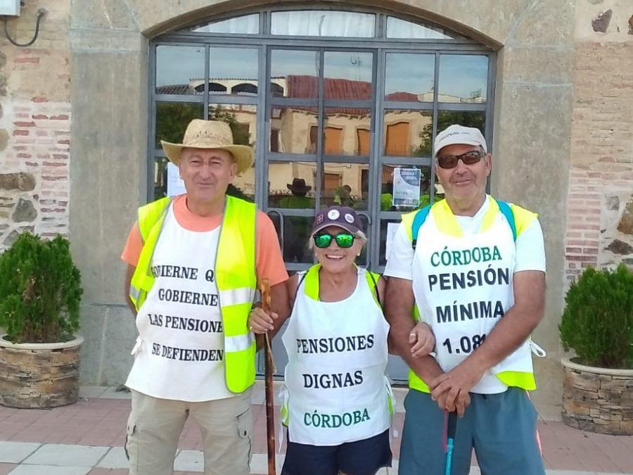 Hoy, 17ª etapa de la Marcha de Rota a Madrid: Almuradiel-Valdepeñas