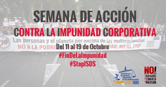 Semana de acción contra la impunidad corporativa
