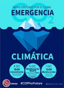 Concentración en Córdoba contra el cambio climático @ Plaza de las Tendillas
