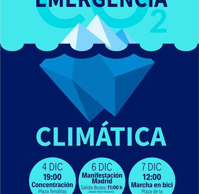 Concentración en Córdoba contra el cambio climático