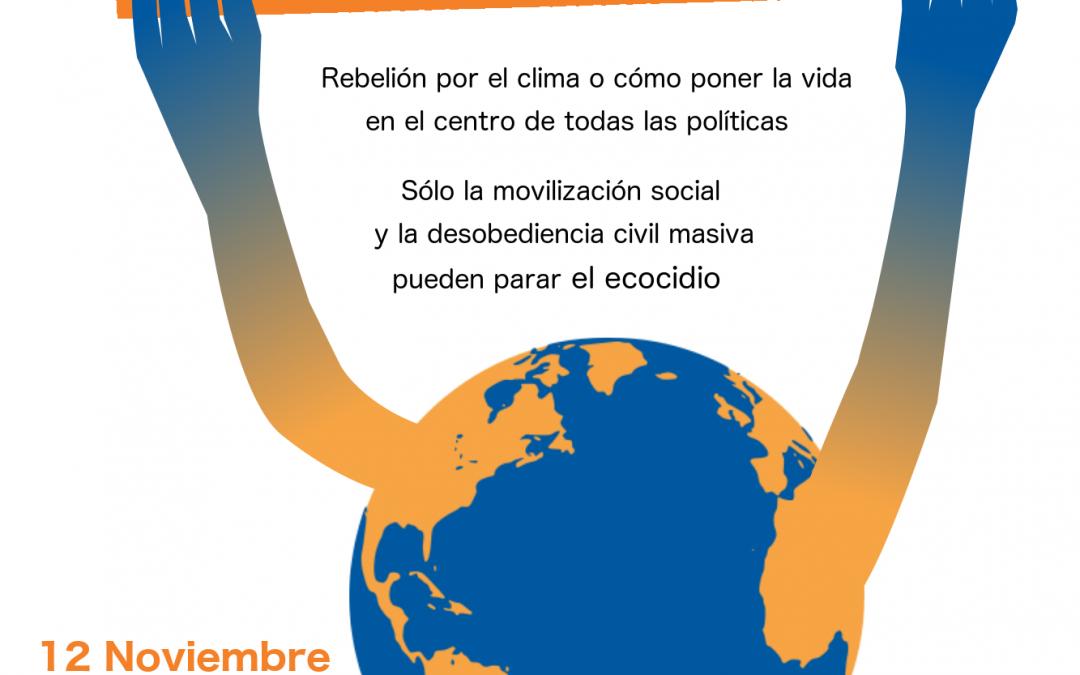 Charla-coloquio Rebelión por el Clima