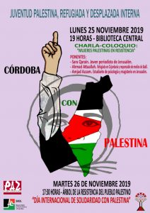 Mujeres palestinas en resistencia @ Biblioteca Central