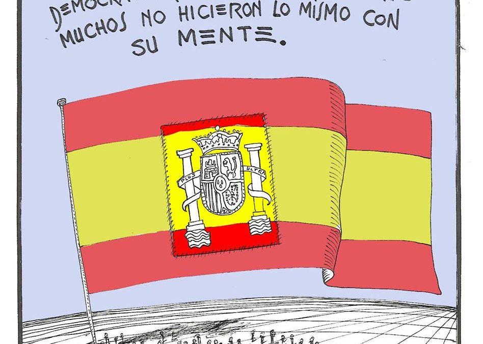 España es libertad, democracia e igualdad
