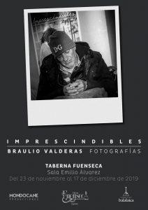 Imprescindibles, exposición de Braulio Valderas @ Sala Emilio Álvarez, Taberna Fuenseca