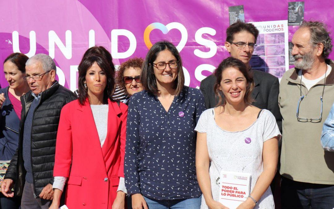 Unidas Podemos sigue haciendo énfasis en la necesidad de que se cumplan los artículos más progresistas de la Constitución