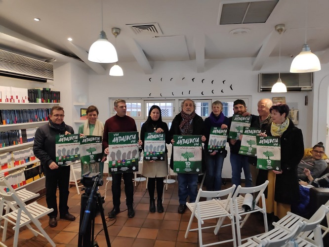 Presentada la Manifestación Andaluza de la Plataforma Andalucía Viva, conmemorativa del 4D