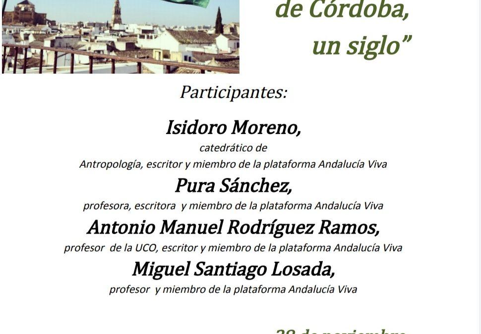 Un siglo de la Asamblea de Córdoba