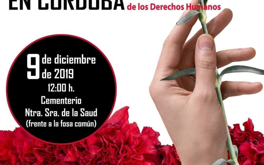Homenaje a las Víctimas del Genocidio franquista en Córdoba