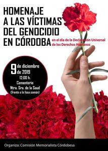 Homenaje a las Víctimas del Genocidio franquista en Córdoba @ Cementerio Ntra. Sra. de la Salud