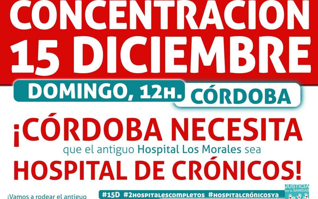Concentración por un Hospital de Crónicos