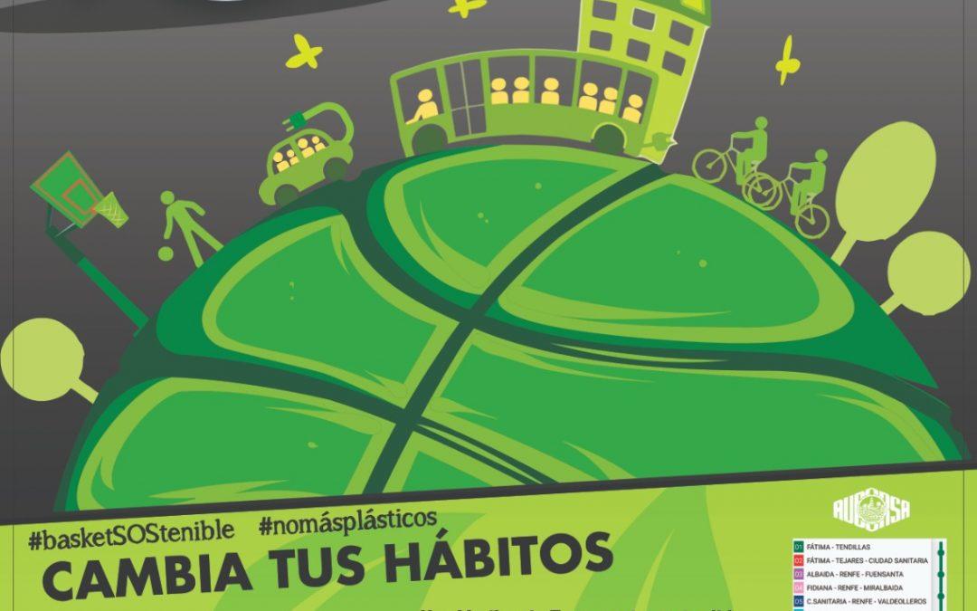 """El Club de Baloncesto Ciudad de Córdoba se mueve por el Medio Ambiente con la iniciativa """"Ven al baloncesto en transporte SOStenible"""""""